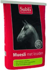 Subli Muesli Met Kruiden - Paardenvoer - 15 kg