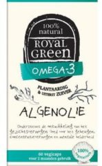 Royal Green Royal groen - Omega 3 Algenolie - 60 vegicaps