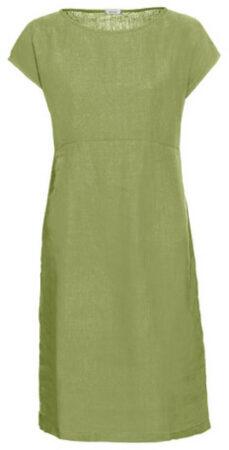 Afbeelding van Enna Linnen jurk, avocadogroen 38