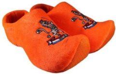 Texla Klomppantoffel Oranje Leeuw SL0744 Oranje Leeuw SL0744 Maat. 16-19