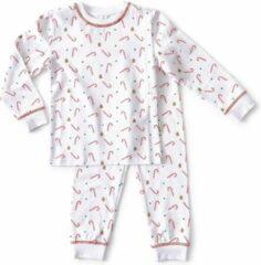 Little Label - baby pyjama - Xmas - maat: 80 - bio-katoen
