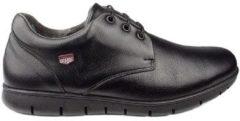 Zwarte Nette schoenen Onfoot S BLUCHER PALA BÚFALO