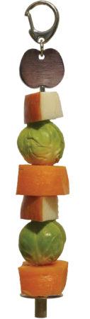 Afbeelding van Rosewood Vogelspeelgoed Fruitspies - Vogelspeelgoed - 27x6.5x2.5 cm