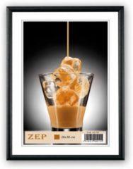 ZEP - Aluminium Fotolijst Ombretta Zwart voor foto formaat 15x20 - AL1B3
