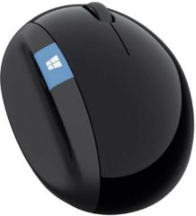 Microsoft Sculpt Ergonomic Mouse WiFi-muis Radiografisch Optisch Ergonomisch Zwart