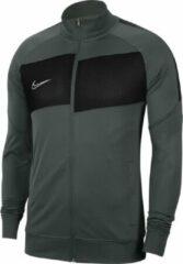 Grijze Nike Dri-FIT Academy Pro Meisjes/Jongens Sportvest - Anthracite/Black/White - Maat XL