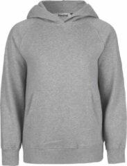Grijze Neutral® organic kinder hooded sweater