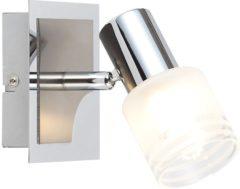 Wandschijnwerper E14 Energielabel: A+ (A++ - E) 3 W LED Brilliant Lea G32410/77 Chroom