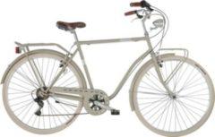 28 Zoll Herren City Fahrrad 6 Gang Alpina Viaggio... grau