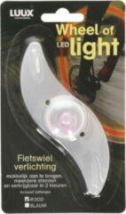 Luux Fietsverlichting in je wiel - Rood - Wheel of led light