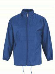 Bc Heren regenkleding - Sirocco windjas/regenjas in het kobaltblauw - volwassenen S (48) kobalt