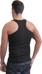 Naft Katoenen halter hemd multipack 4 stuks zwart maat XL