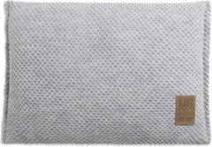 Knit Factory Lynn Sierkussen - Licht Grijs - 60x40