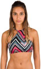 Blue Billabong Sol Searcher High Neck Bikini Top