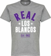 Retake Real Madrid Established T-Shirt - Grijs - XXXL