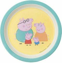 Bord Peppa Pig 18cm met ouders