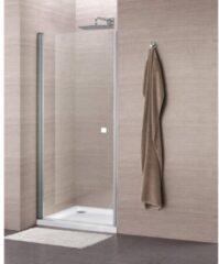 Royal Plaza Clever draaideur 90x195cm chroom profiel helder glas met Clean coating 55844