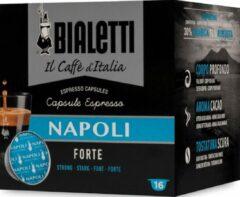Bialetti Napoli Koffiecups - 8 x 16 stuks