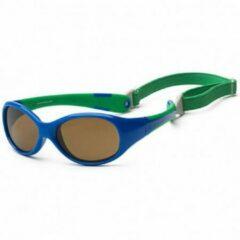 KOOLSUN - Flex - Kinder zonnebril - Blue Fir - 3-6 jaar