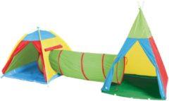 Kinderzelte mit Spieltunnel, »Zeltstadt Zenovia«, knorr toys