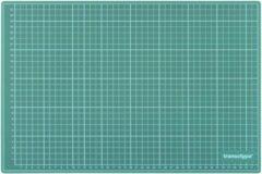 Transotype Snijmat - A3 formaat hoge kwaliteit groene snijmat - Geschikt met snijwerk, voor diy, stencil-art, hobby doeleinden