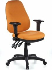 Hjh office Zenit Pro - Bureaustoel - Stof - Oranje