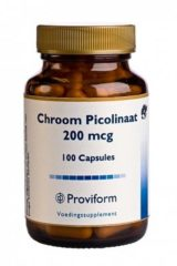 Proviform Chroom Picolinaat - 100 capsules - Voedingssupplement