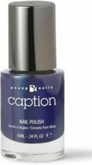 Blauwe Young Nails - Caption Caption Nagellak 044 - Mission Complete