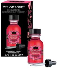 Donkerrode Kama Sutra Kamasutra Oil of Love Strawberry Dreams