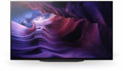 Sony KE-48A9 Bravia OLED-TV 121 cm 48 inch Energielabel G (A - G) Twin DVB-T2/C/S2, UHD, Smart TV, WiFi, PVR ready, CI+* Zwart