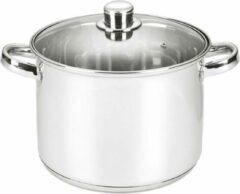 Zilveren YILTEX – Kookpot – Kookpan - RVS - Ø20 cm – 4.7l - Inox