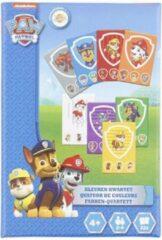 Redhart PAW Patrol kleuren kwartet - Blauw / Multicolor - Karton - 32 kaartjes - Spel