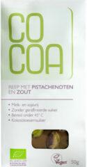 Cocoa Reep Wit Pista Zout Bio 50 gr