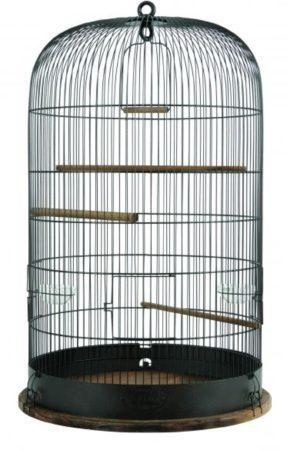 Afbeelding van Zolux Retro Vogelkooi Marthe - Vogelverblijven - 48x48x74 cm Bruin