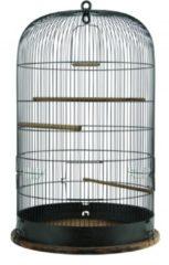 Zolux Retro Vogelkooi Marthe - Vogelverblijven - 48x48x74 cm Bruin
