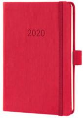 !weekagenda Sigel Conceptum A6 rood,176 blz., 80 g 2 Pagina's = 1 Week