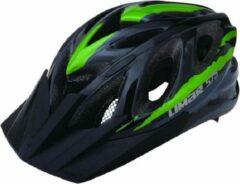 Fietshelm met visor Groen - Limar MTB 575 groen - Maat L (54-61cm)