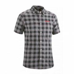 Gonso Fietsshirt Don Heren Semi-fit Polyester Zwart/grijs Maat M