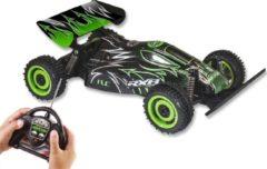 Zwarte Gear2play off-road Bionic Racer Buggy bestuurbare auto 1:18