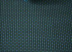 Blauwe Pip Studio hoeslaken Cross Stitch dark blue - 160x200 cm