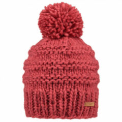 Barts - Women's Jasmin Beanie - Muts maat One Size, rood/roze