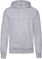 Fruit of the Loom capuchon sweater lichtgrijs voor volwassenen - Classic Hooded Sweat - Hoodie - Heren kleding 2XL (EU 56)