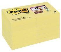Post-it Super Sticky Notes 47,6 x 47,6 mm Canary Yellow Geel 12 Blokken van 90 Vellen