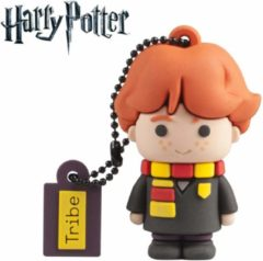 Rode Tribe 32GB Ron Weasley USB flash drive USB Type-A 2.0 Zwart, Oranje, Geel