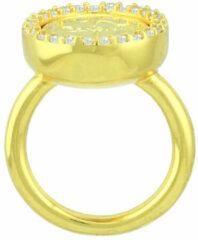 Mi Moneda RIN-AMO-LU-02 Ring Avo De Luxe Silver goudkleurig Maat 50
