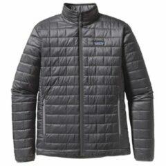 Patagonia - Nano Puff Jacket - Synthetisch jack maat L, zwart/grijs