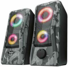 Trust GXT 606 Javv luidspreker set 2.0 kanalen 6 W Zwart, Grijs