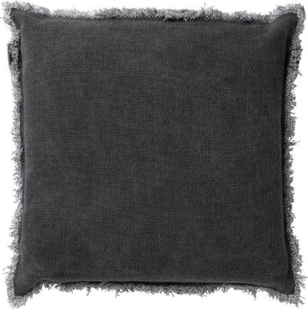 Afbeelding van Antraciet-grijze Dutch Decor Kussenhoes Burto 60x60 cm Charcoal Gray