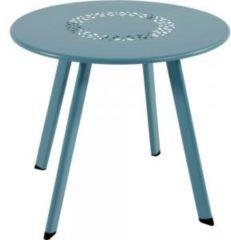 Lesli Living bijzettafel Dali blauw 40x35cm