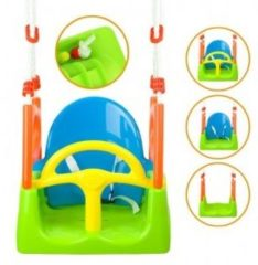 Playfun Schommelzitje 3-in-1 Multicolor 48 X 30 X 160 Cm